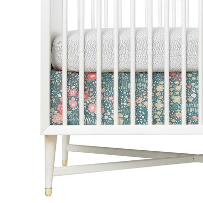 DwellStudio Posey Percale Crib Skirt, Posey Percale