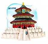 Beijing Temple of Heaven China AsianMagnet Souvenir Thailand Handmade Design