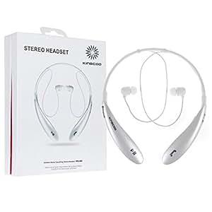 Kingcoo Bluetooth Headset (White)