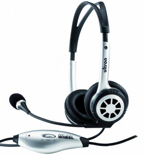 Ultron Multimedia Headset UHS-250 Wheel USB