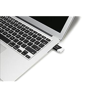 PNY Compact Attaché 16GB USB 2.0 Flash Drive - Black/White - P-FD16GCOM-GE