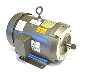 Baldor cd6218 184c frame tefc dc motor 1 hp 1750 rpm for Baldor industrial motor parts