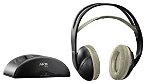 AKG K912 Stereo Funkkopfhörer schwarz