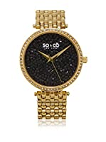 So & Co new York Reloj con movimiento cuarzo japonés Woman GP15863 38.0 mm