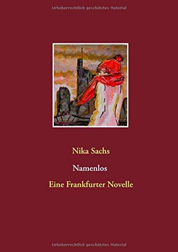 Buchcover: Namenlos: Eine Frankfurter Novelle