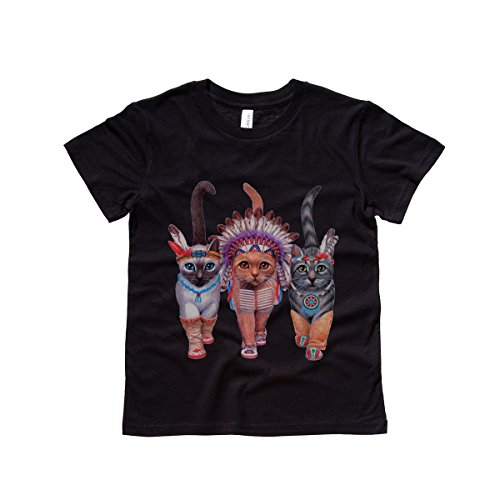 Moment Gear Kids' Festive Costume Indian Cats T Shirt