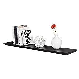 WELLAND Oliver Wall Floating Shelf (Espresso, 36\