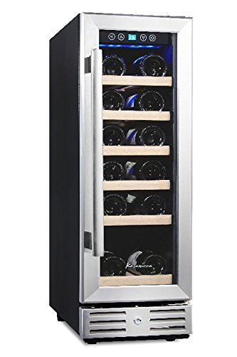 Why Should You Buy Kalamera 12'' Built-in Wine Cooler 18-bottle Stainless Steel Door Digital Tempera...