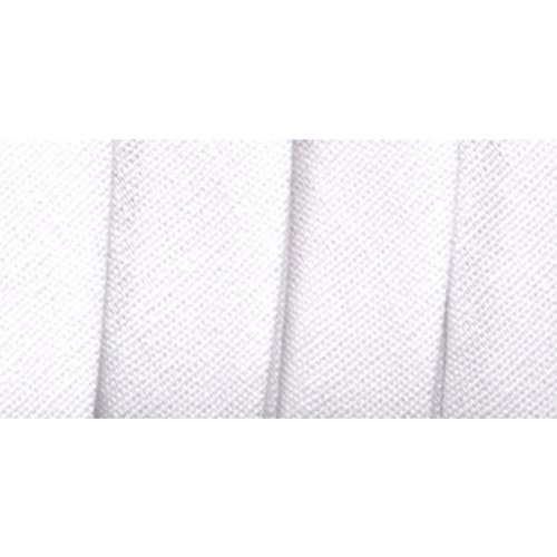 Lowest Prices! Wrights 117-206-030 Extra Wide Double Fold Bias Tape, White, 3-Yard