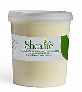 1 kilogramme de beurre de karit non raffin organique. Black Bedroom Furniture Sets. Home Design Ideas