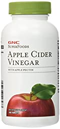 GNC SuperFoods Apple Cider Vinegar 100 Tablets