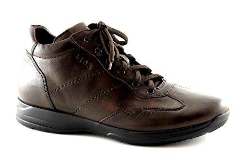 LION 8498 marrone tm scarpe uomo polacchini scarponici mid lacci 42