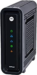 Motorola SB6121 DOCSIS 3.0 Cable Modem in New Official Manufacturer Brown Box (Environmentally Safe) - Non-Retail Box, 100% New and Complete SB-6121