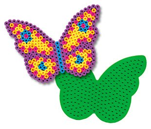 Butterfly Pegboard for Perler Fuse Beads