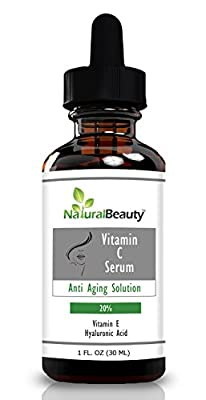 Best Cheap Deal for Organic Vitamin C Serum + Hyaluronic Acid Serum + Vitamin E By Natural Beauty Brand. by Natural Beauty Brand - Free 2 Day Shipping Available