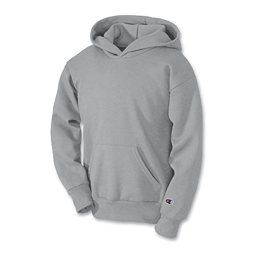 Champion Youth Double Dry Action Fleece Pullover Hood_Light Steel_XL (Champion Heavyweight Socks compare prices)