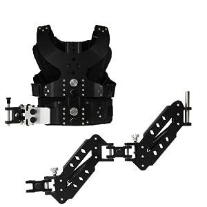 2013 Nouveau Kit De Ensemble Système De Stabilization Doubles Bras De Support + Gilet de Charge d'épaules pour Appareil Photo Caméra Video SLR, DSLR and DVs