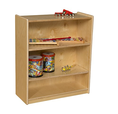 Wood designs 15900aj small bookcase with adjustable for Amazon small bookshelf