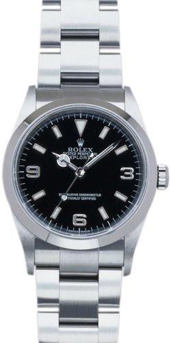 [ロレックス] ROLEX 腕時計 エクスプローラー1 114270 ブラック メンズ [並行輸入品]