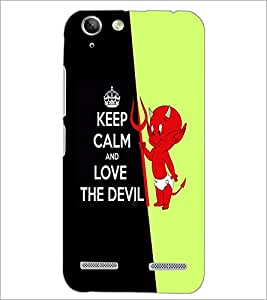 PrintDhaba Quote D-2995 Back Case Cover for LENOVO VIBE K5 PLUS (Multi-Coloured)