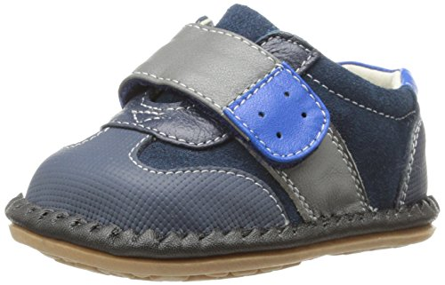 See Kai Run Joey Flat (Infant/Toddler),Navy,3 M Us Infant front-442285