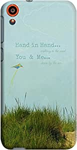 Dailyobjects You and Me Case For HTC Desire 820