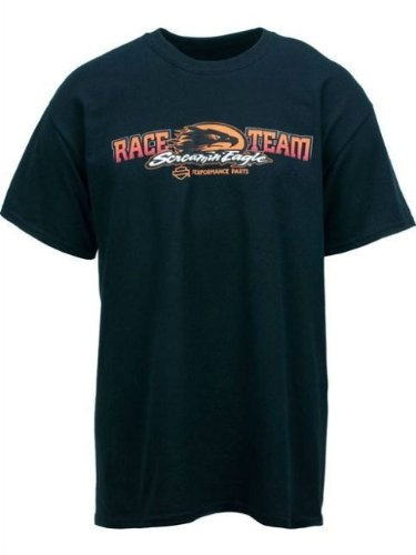 Harley-Davidson® Men's Screamin' Eagle Pro Stock Race Tee T-Shirt. All Cotton Tee. HARLMT0179