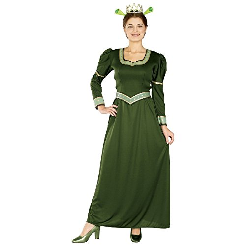 [GSG Fiona Costume Adult Shrek Halloween Fancy Dress] (Warrior Fiona Costumes)
