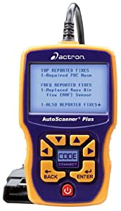 Actron CP9580 Auto Scanner with CodeConnect Trilingual OBD II, CAN and ABS Scan Tool