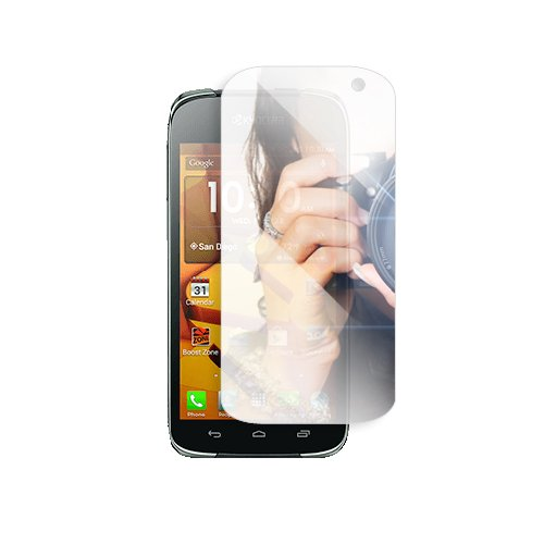 Nextkin Kyocera Hydro Icon C6730 Hydro Life C6530 Custom-Fit Mirror Screen Guard Protector Shield Film Kit
