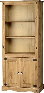 Corona 2-Door Bookcase from Mercer's Furniture
