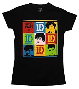 Girls One Direction Colorful Squares T-shirt by Global