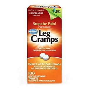 Hyland's Relax Calf and Foot Cramps,Homeopathy Tablets, 100 ea