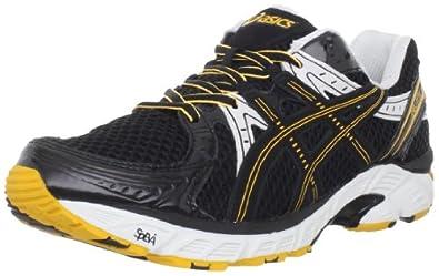 ASICS Men's GEL-1170 Running Shoe,Onyx/Black/Marigold,6.5 M US