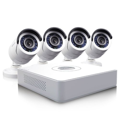 Swann 8 Channel D1 Security System With 500Gb Hard Drive, 4 600 Tvl Cameras, And 65' Night Vision