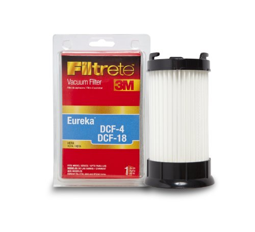 3M Filtrete Eureka DCF-4 & DCF-18 HEPA Vacuum Filter, 1 Pack (1 4 Hepa Filter compare prices)