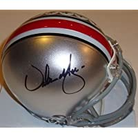 Urban Meyer Signed Autograph Ohio State Buckeyes Osu Mini Helmet Authentic Certified Coa