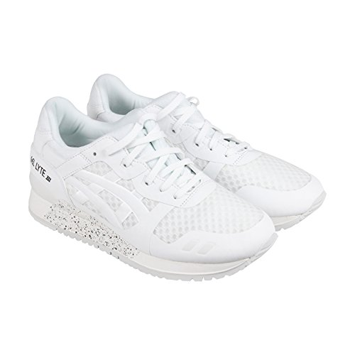ASICS GEL Lyte III NS Retro Running Shoe, White/White, 10 M US