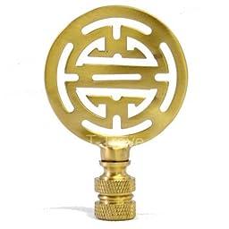 Solid Brass Longevity Round Finial