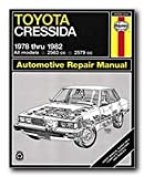 Haynes Toyota Cressida (78 - 82) Repair Manual