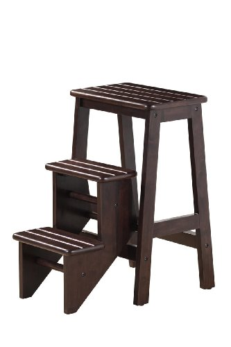 Folding Step Stool - Cappuccino(24