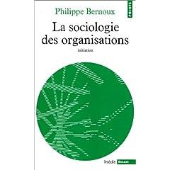 Couverture de la Sociologie des organisations