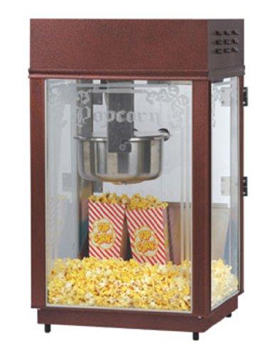 Gold Medal 1871 120208 Heavy Duty Popcorn Machine W/ 6-Oz Ez Kleen Kettle & Etched Glass, 120/208V, Each