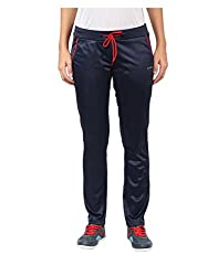Yepme Women's Blue Polyester Active Trackpants - YPWTPANT5054_XS