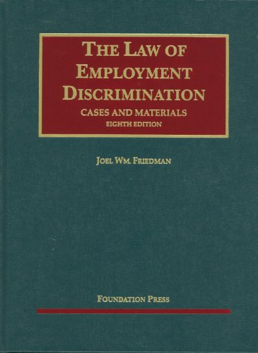 Cases and Materials on The Law of Employment...