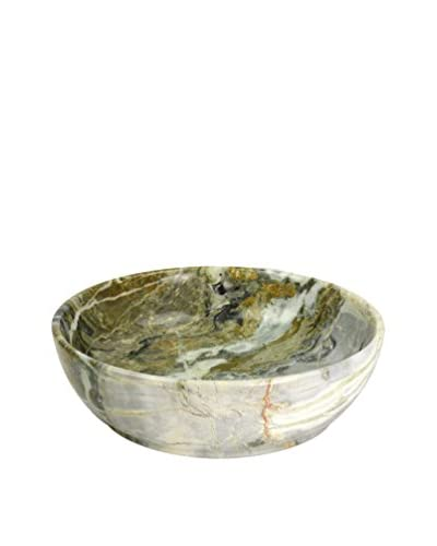 Uptown Down Marble Bowl, Grey