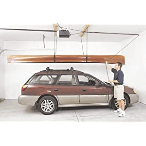 Click to read our review of Kayak Storage Racks: 4 Point, 90lb, Storage Rack