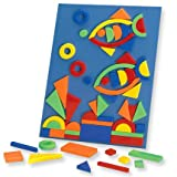 Megcos Magnetic Shapes Set (Over 80Pc!) -Affordable Gift for your Little One! Item #LMID-1186-C