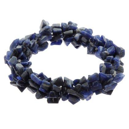 Sodalite Crystal Bracelet - Gemstone Chips