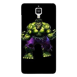 Jugaaduu Superheroes Hulk Back Cover Case For Xiaomi Mi4